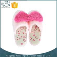 2015 Winter warm fashion heart ornament for slipper