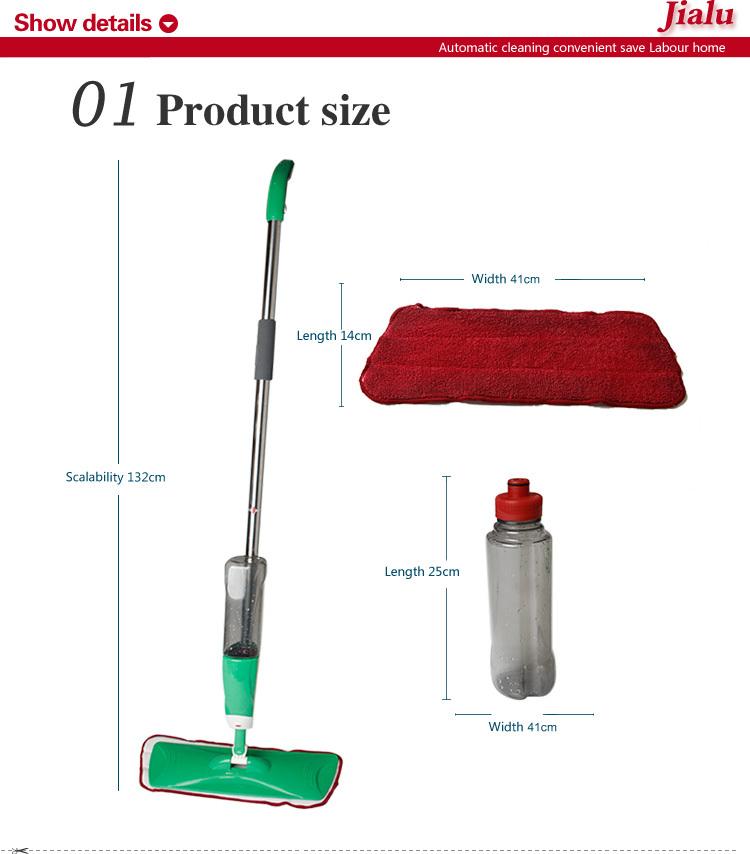 Microfiber Spray Mop with water bottle, View microfiber magic spray ...