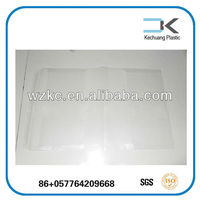 Clear !!Self adhsive transparent PVC draw book cover