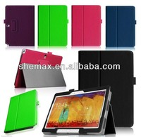 Original mobile flip cover For Samsung Galaxy Note 10.1 2014 Edition P600 P601 Case Ultrathin Leather Flip Cover