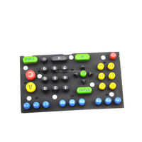Calculator Application and Silicone Keypad Button Material silicone button pad,Silicone push button