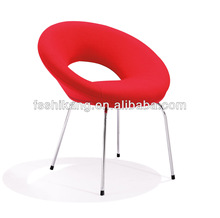 modern single leather leisure chair