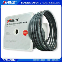 Hebei OTHELLO Carbon fiber rope seal, Carbon fiber gland packing