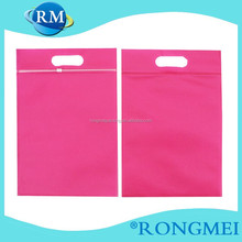 Pink Zip Lock Cloth Non Woven bags