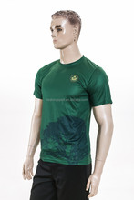 cheap brand organic cotton 100% polyester t shirt
