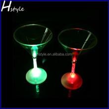 Lighting Martini Glasses Barware Blinking LED Flashing Martinis Glow Cups SL025