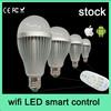 lighting remote RGB e27 e26 led bulb wifi smart 6w