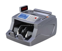 Counterfeit Money Counting Machine with LCD Large Display Especially for CNY, USD, EUR, HKD, GBP, JPY