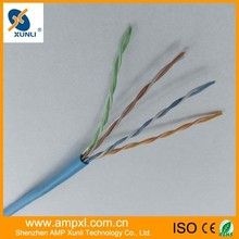 Amp Xunli ethernet cable yellow cat 5e