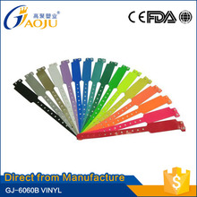 Professional manufacture colorful customed/oem wide shape hand band