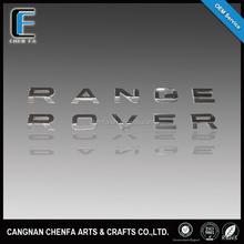 Custom high quality 3d plastic chrome plated emblem badges car emblem