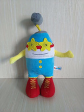 gift toy plush stuffed egg cartoon characters toy shop worker webcam