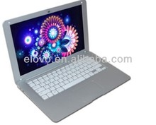 Wholesale hong kong 13.3 inch dual core tab laptop !! rugged laptops VIA WM8880 android laptop