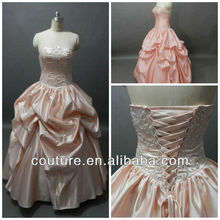 Real images ball gown beading crystal ebay dress for seniors evening dresses china qd037