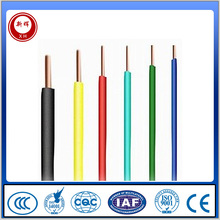 CCC certificate pvc insulation copper building electrical wire and cable