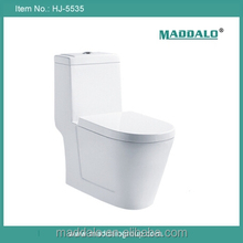 Foshan hotel luxury one piece ceramic white toilets with dual flushing