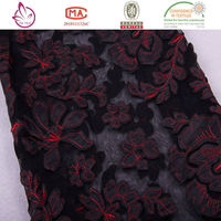 Alibaba china Low price Velvet woven jacquard fabric