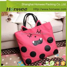 hot sale custom design waterproof small jute bag with zipper