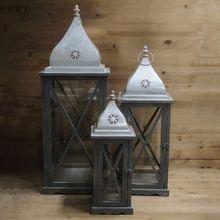 Buena calidad atractivo clásico linterna hogar para la decoración