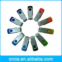 New 4GB/8GB/16GB/32GB USB 2.0 Flash Memory Pen Drive Stick swivel