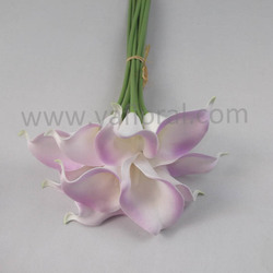 Wholesale factory price artificial calla lily wedding bouquet flower for bride