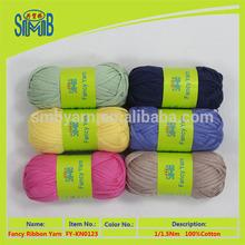fábrica de hilados mejores patrones que hacen punto bolas venta 100g de algodón para tejer a mano