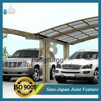Hot sale outdoor aluminum pergola carport , carport shade