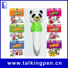 Hot Selling Audio Books with Digital Smart Talking Pen for Kids Learning English