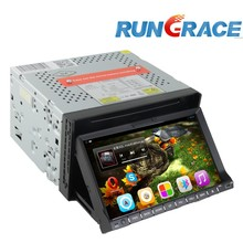 android In dash 7 inch 2 din dual dvd player auto for cars