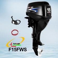 15hp 4 stroke outboard motor / remote control / electric start / short shaft / F15FWS / PARSUN