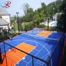 Basketball/Tennis Outdoor PP Interlock Floor