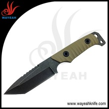 OD Green G10 handle Tanto Fixed Blade Survival knife- FB-006