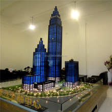 Display model for real estate development ,tower office architectural models
