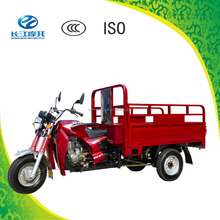 Open body three wheel motor tricycle for cargo