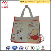 2015 factory sale non woven carry bag , non woven bag with zipper