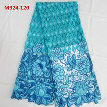 2015 new fashion french cord lace fabric, lace embroidery curtain for lace wedding dress