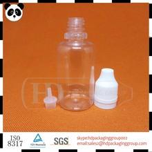 Hot sale 30ml PET liquid nicotine e liquid for e cigs from Guangzhou