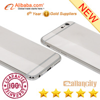 Luxury for iphone 6 platinum plating mirror housing with best price