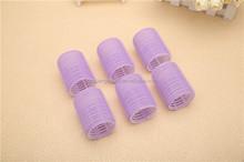 Plastic magic velcro nylon soft twist hair rollers