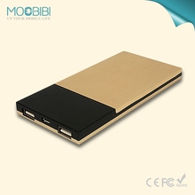 9MM super slim business power bank big capacity power bank for business trip /8000mah Li-polymer battery rechargeable power