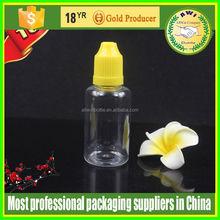 Assurance Plastic squeeze dropper bottle 15ml PET needle tip pharmaceutical dropper bottle plastic squeeze dropper bottle