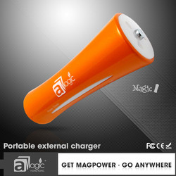 18650 Mini ABS round 2600 mAh power bank for sale