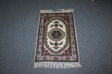 prayer silk carpets handmade pure silk rug in canton factory