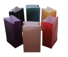 Cheap Customized Kraft Square Paper Bags Snack Bags Seal Packaging bags