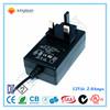 AC Adapter Input 100-240V Output 12V 2A Wall Power Adapter US Plug