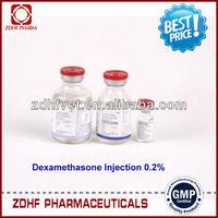 GMP calves/swines inflammatory treatment dexamethasone sodium injection