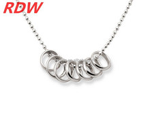 RDW 2015 The Hobbit Ring Necklace Stainless Steel 316L Chain Necklace