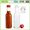 5oz Woozy Hot Sauce Bottles with Polypropylene Ribbed Cap with Foam Liner