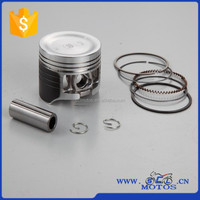 SCL-2012120968 China Motorcycle Parts Piston rings , Piston Kit 52.4mm for WAVE125
