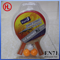 HIGH quality ping pong racket / table tennis racket / 1 racket & 2 ball